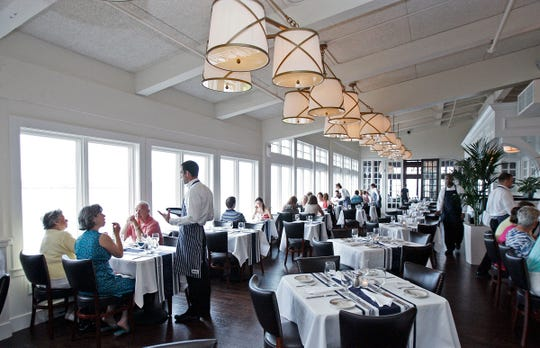 Harbor House, 550 N. Harbor Drive, is known for its fresh fish and views of Lake Michigan.