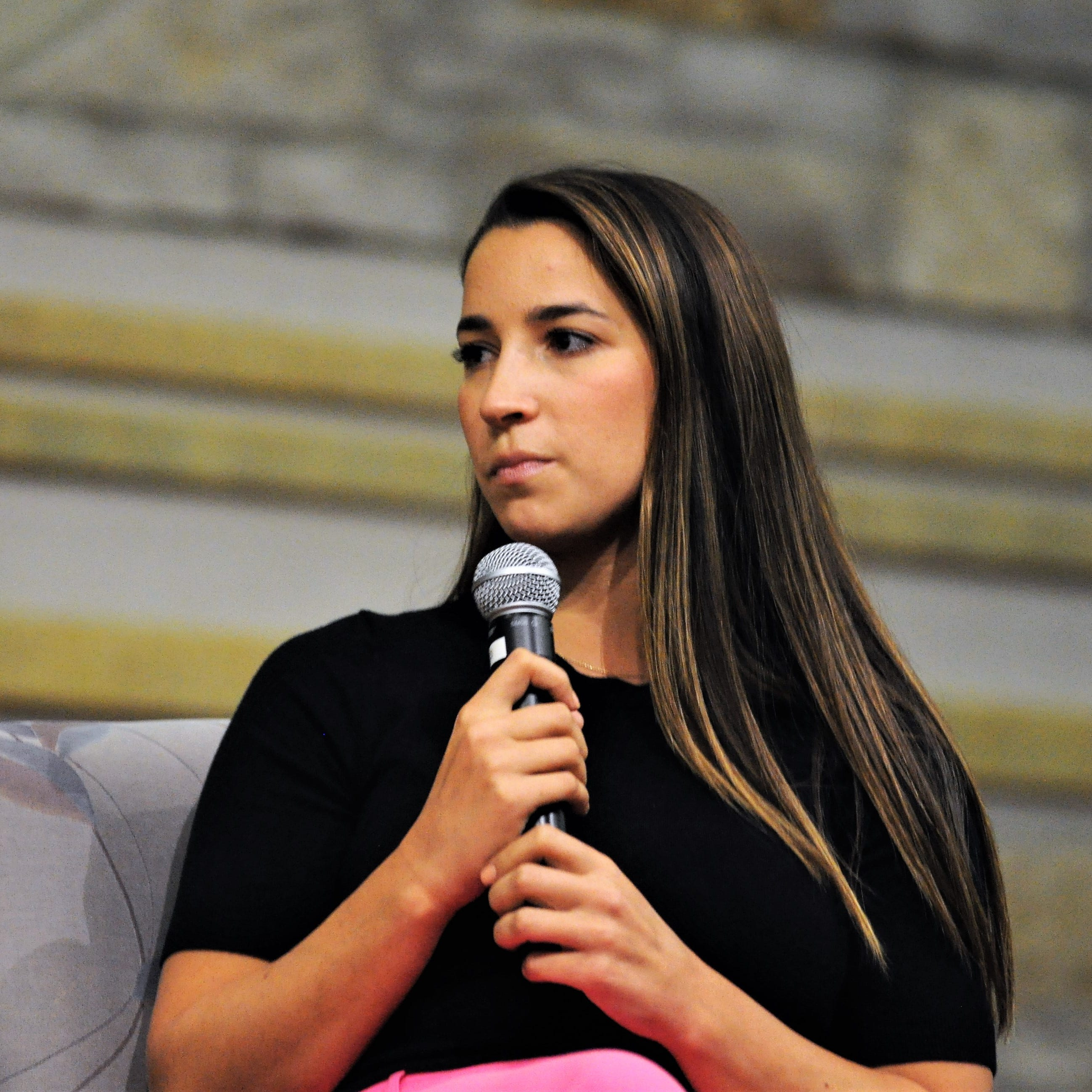 Aly Raisman tells Fox Point crowd that changes to USA Gymnastics shouldn't stop with Nassar sex-assault sentence