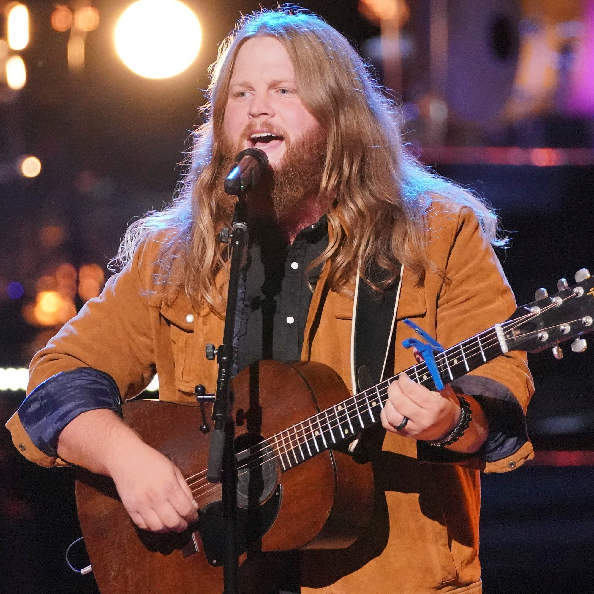 With small-town Wisconsin charm, and talent, Chris Kroeze is a rising star on 'The Voice'