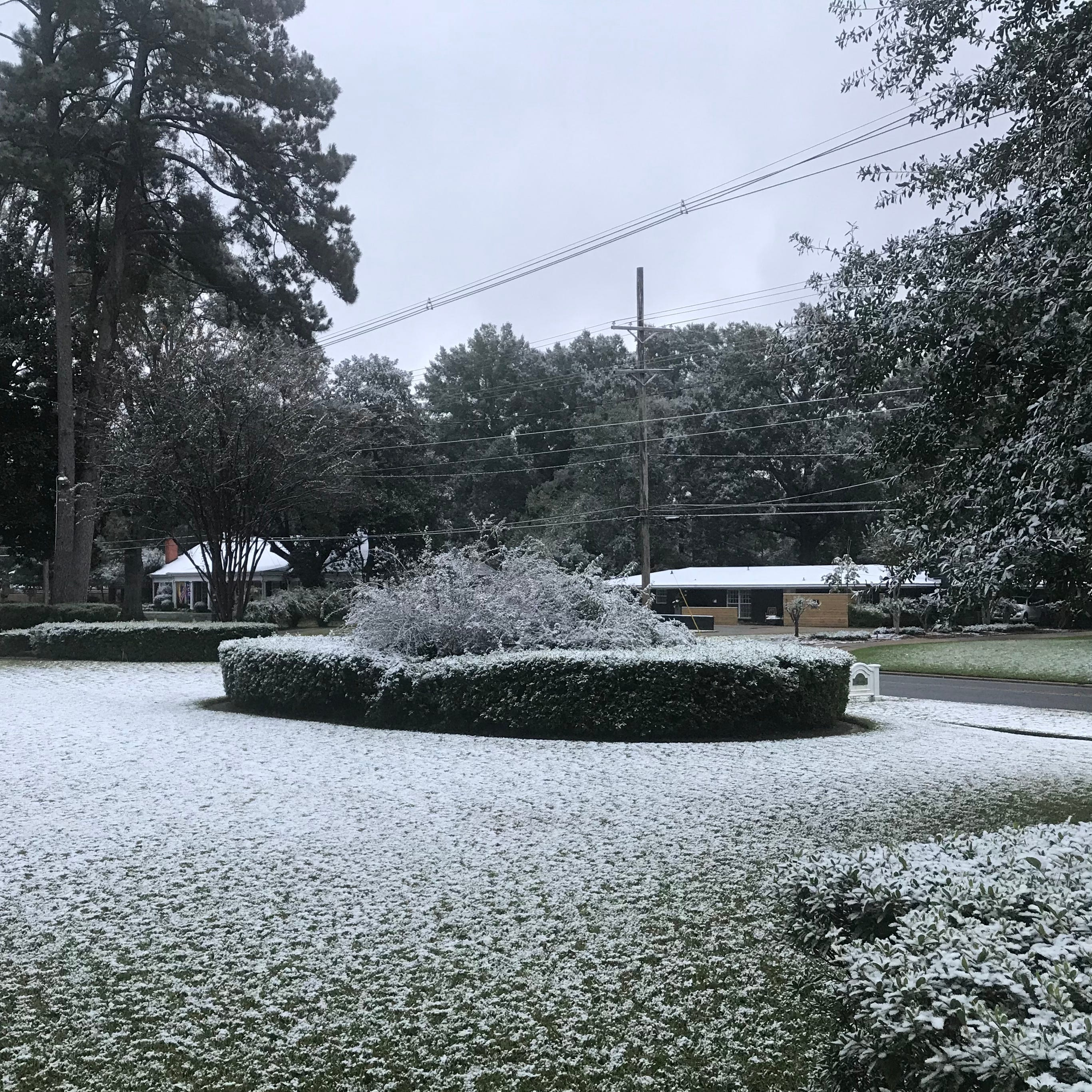 Monroe breaks record with early snow