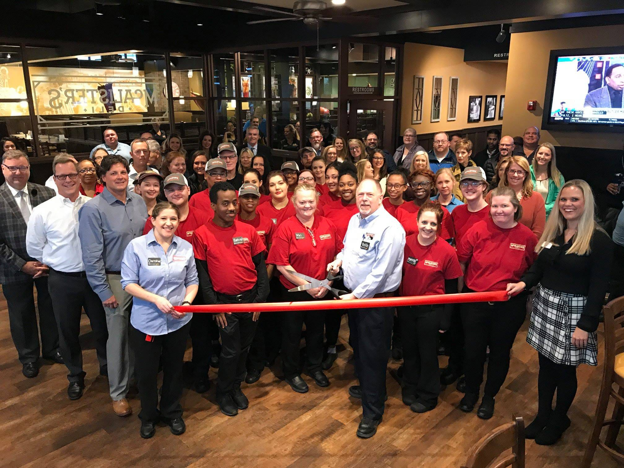 McAlister's Deli opened its second location in Murfreesboro at 2537 Medical Center Parkway.