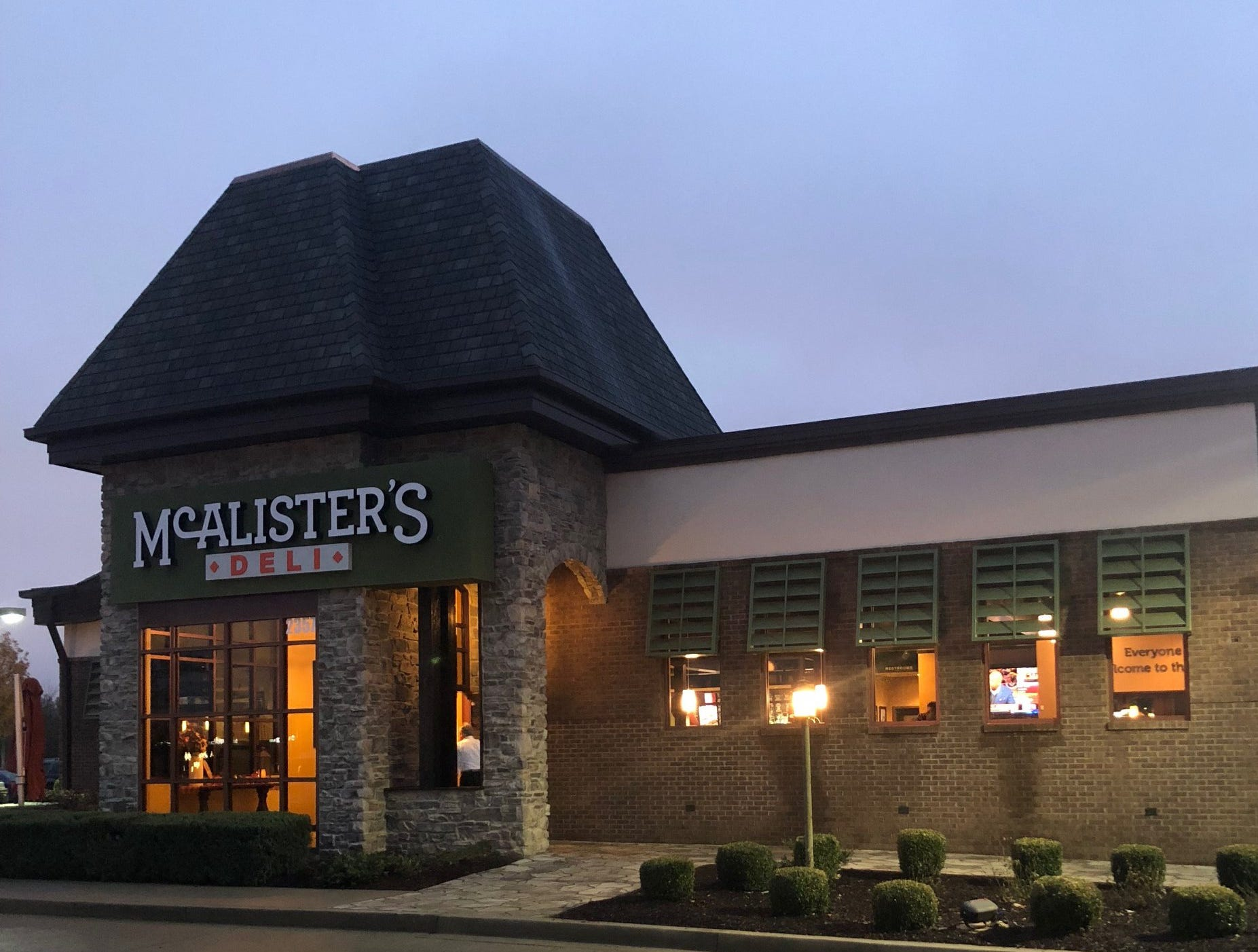 McAlister's Deli finally opened Tuesday, Nov. 13, at the space once occupied by Peter D's American Southern Bistro at 2357 Medical Center Parkway.