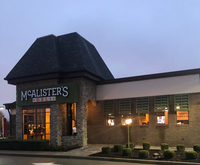 McAlister's Deli finally opened Tuesday, Nov. 13, at the space once occupied by Peter D's American Southern Bistroat 2357 Medical Center Parkway.