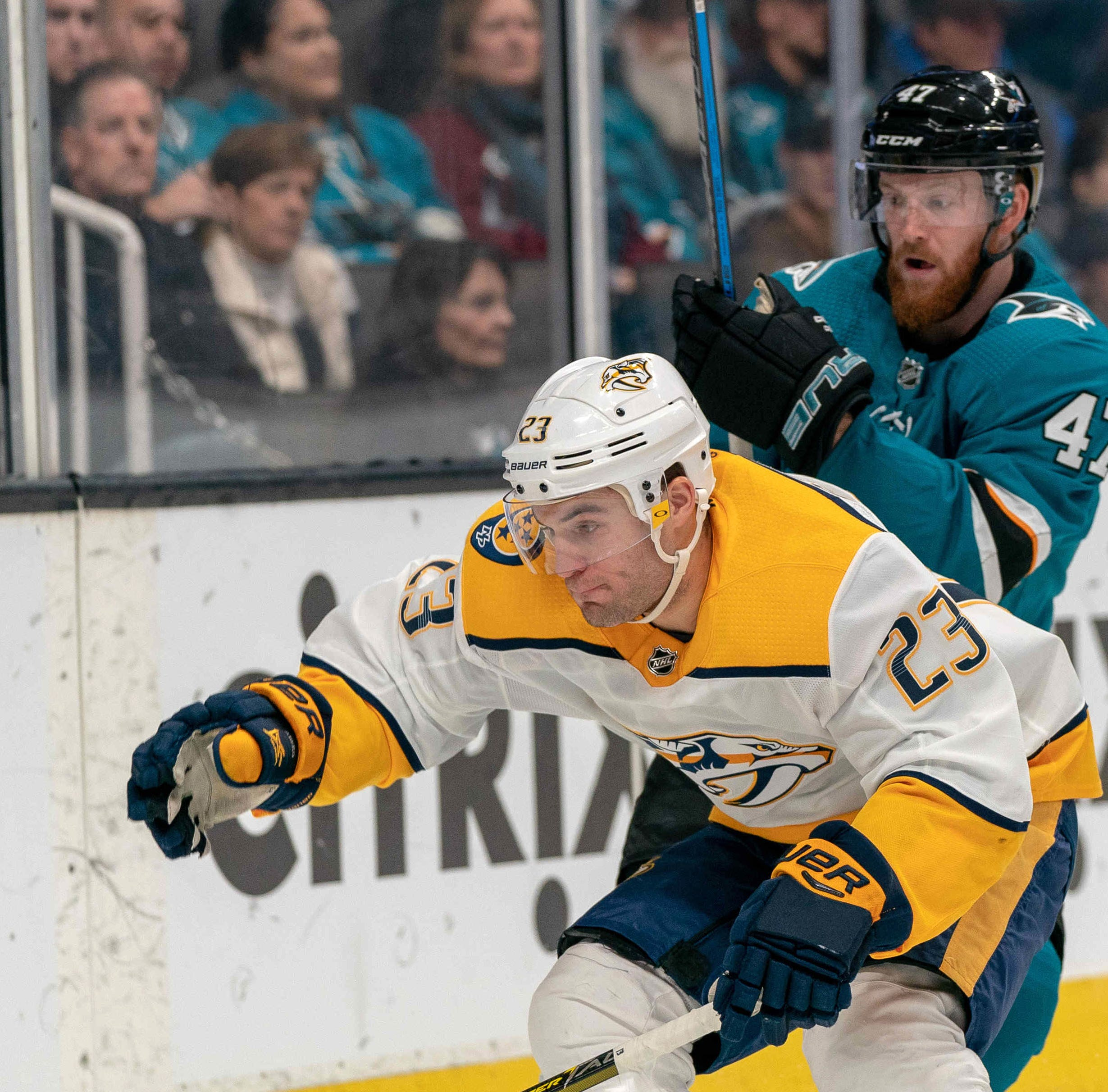 Tuesday's recap: Sharks 5, Predators 4