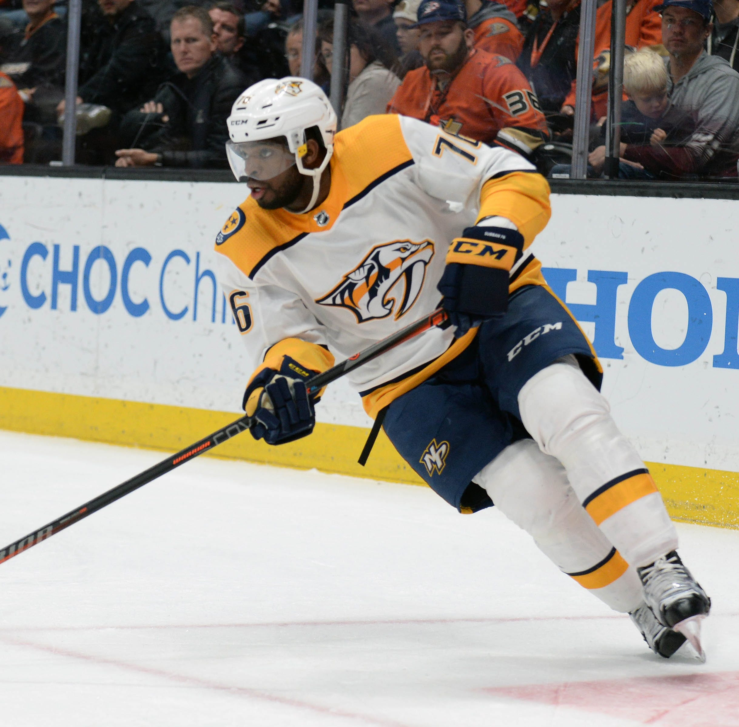 Predators coach Peter Laviolette quiet on P.K. Subban's status as injuries pile up