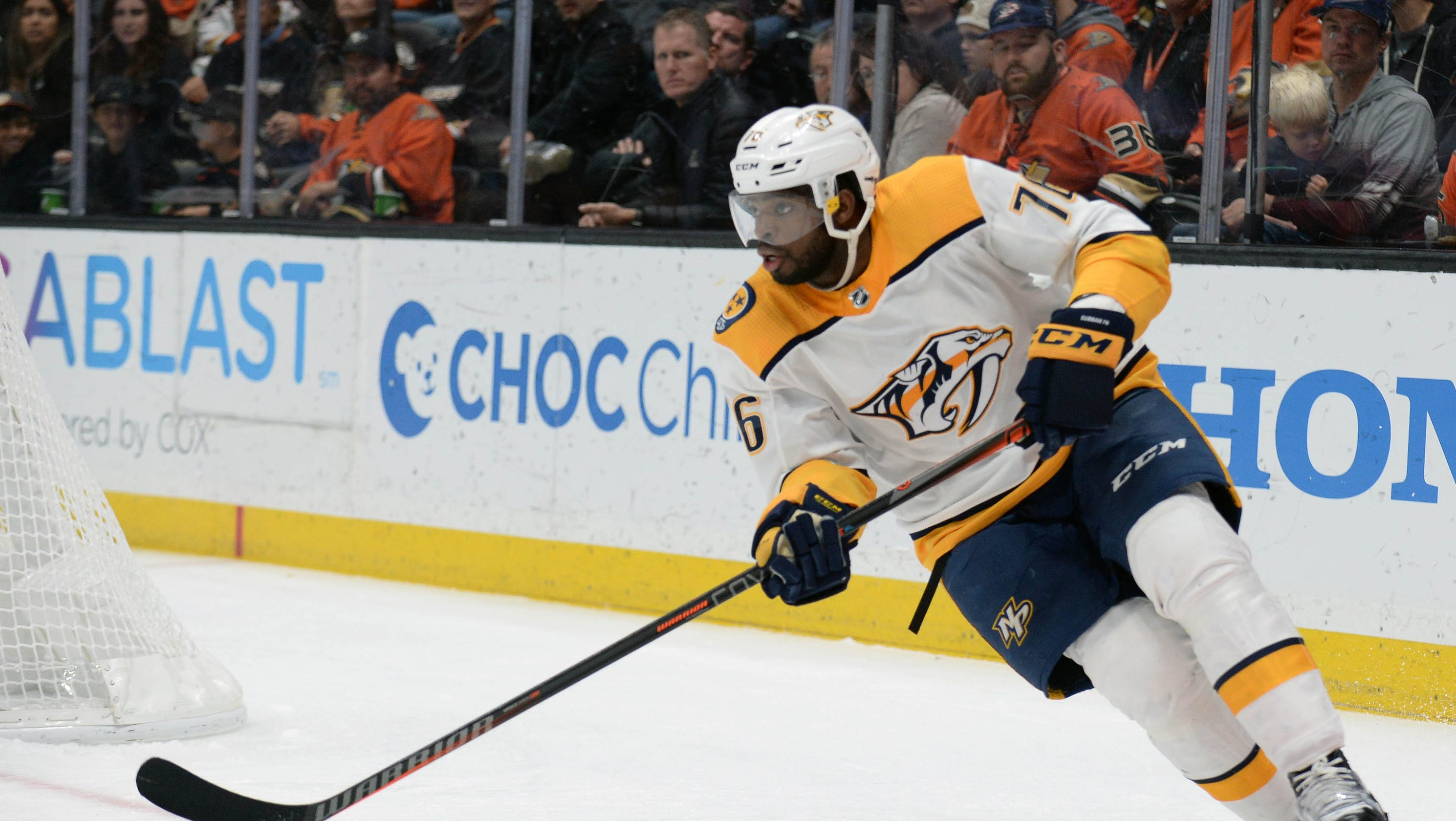 Predators Is P K Subban Close To Returning From Ir