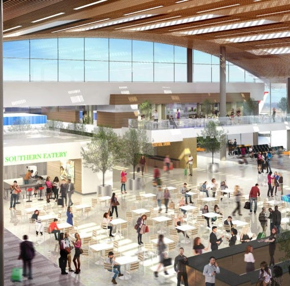 Nashville's airport is getting a major overhaul, including new international arrivals facility
