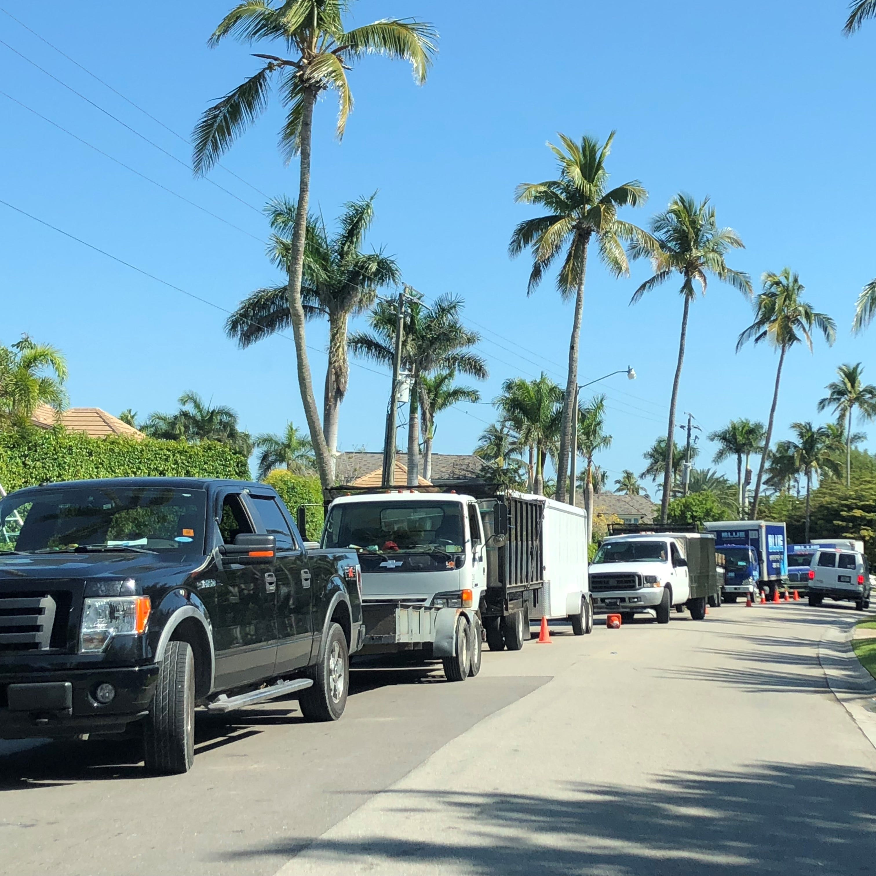 Naples bans commercial vehicles from parking on Port Royal streets