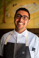 Executive Chef and Partner Vincenzo Betulia poses for a portrait on Friday, November 9, 2018, at The French in Naples.