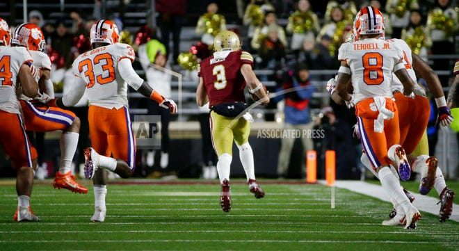 After a super-strong start, Michael Walker's Boston College Eagles have done an about-face the past three games. Still, the former Naples High quarterback and current Boston College senior easily leads the nation in combined return yards.