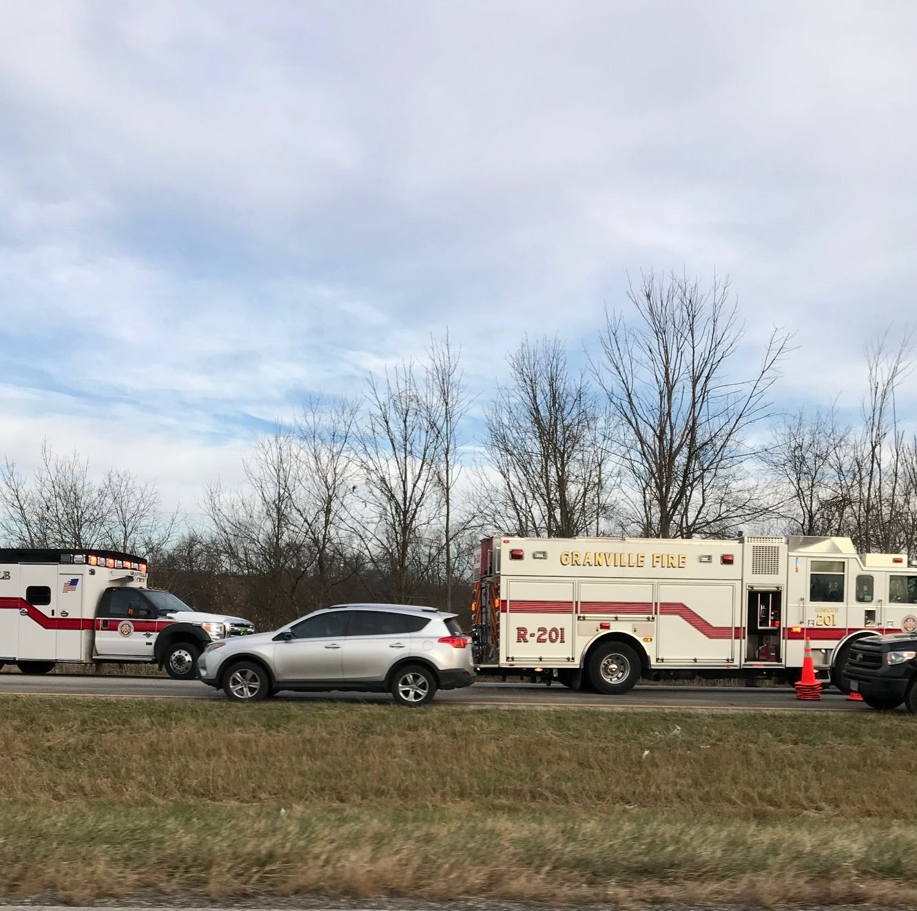 Construction, accident snarls traffic on westbound Ohio 16