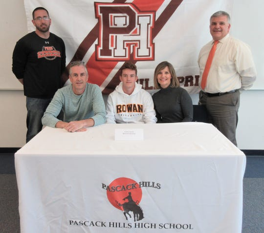 Pascack Hills' Christopher Curcio signed a letter of intent to play baseball at Rowan.