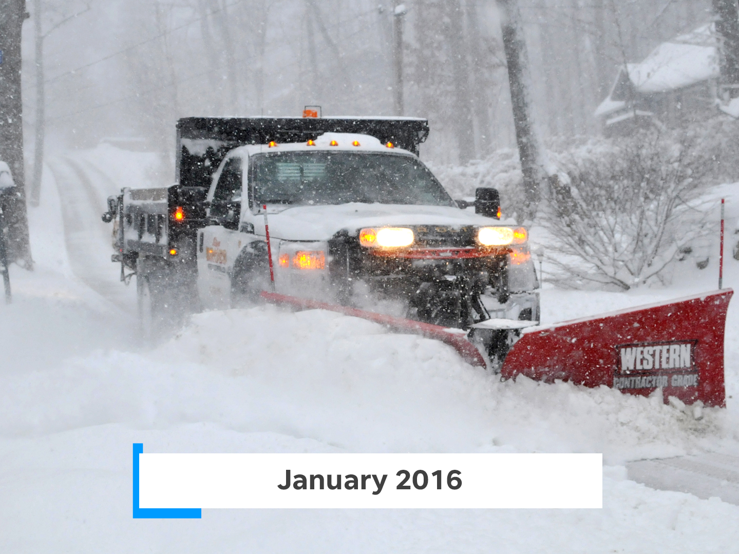 The January 2016 blizzard brought up to 30 inches of snow to New Jersey.