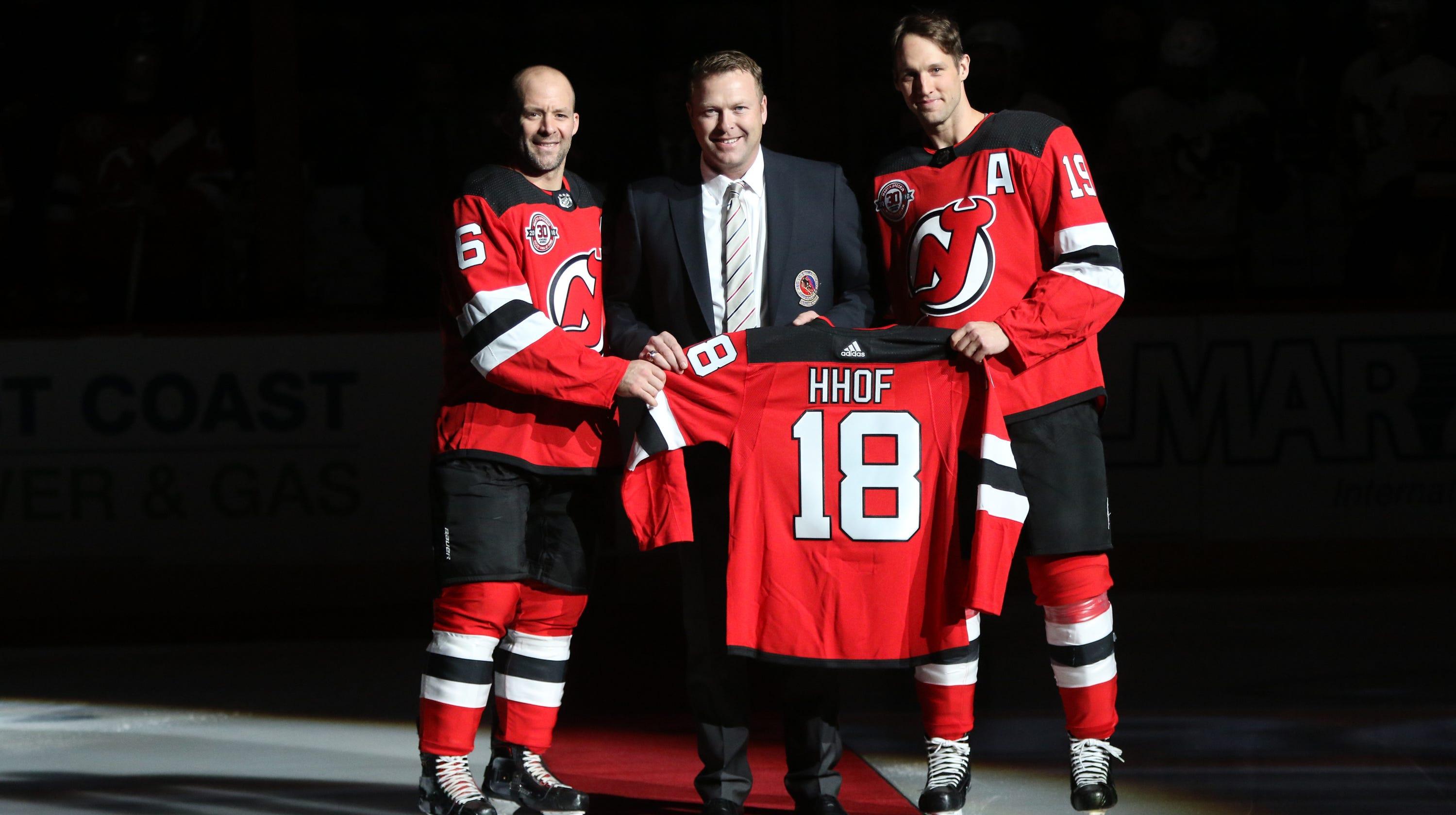 NJ Devils honor Martin Brodeur before getting win over Penguins 518f824af