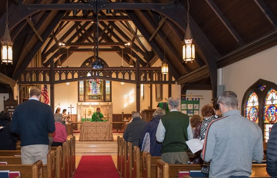 A recent Mass at the Church of the Atonement in Tenafly.