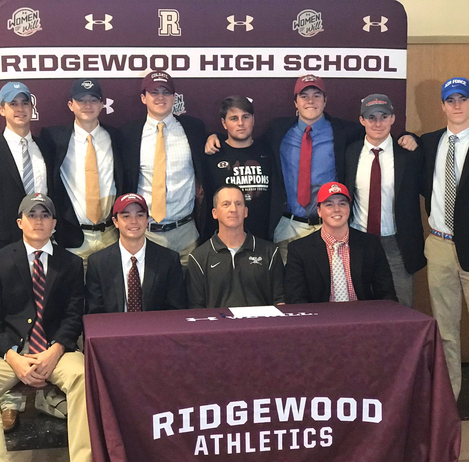 National Signing Day: 26 Ridgewood student-athletes sign letters of intent
