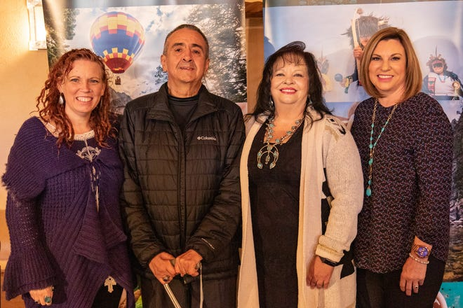 The 2018 New Mexico True Heroes: Kym Sanchez, Gene Pino, Yoli Diaz, Robin Brulé.