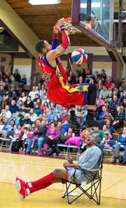 The high-flying Harlem Wizards will play against Northville High administrators, faculty and coaches on Tuesday, Nov. 27.