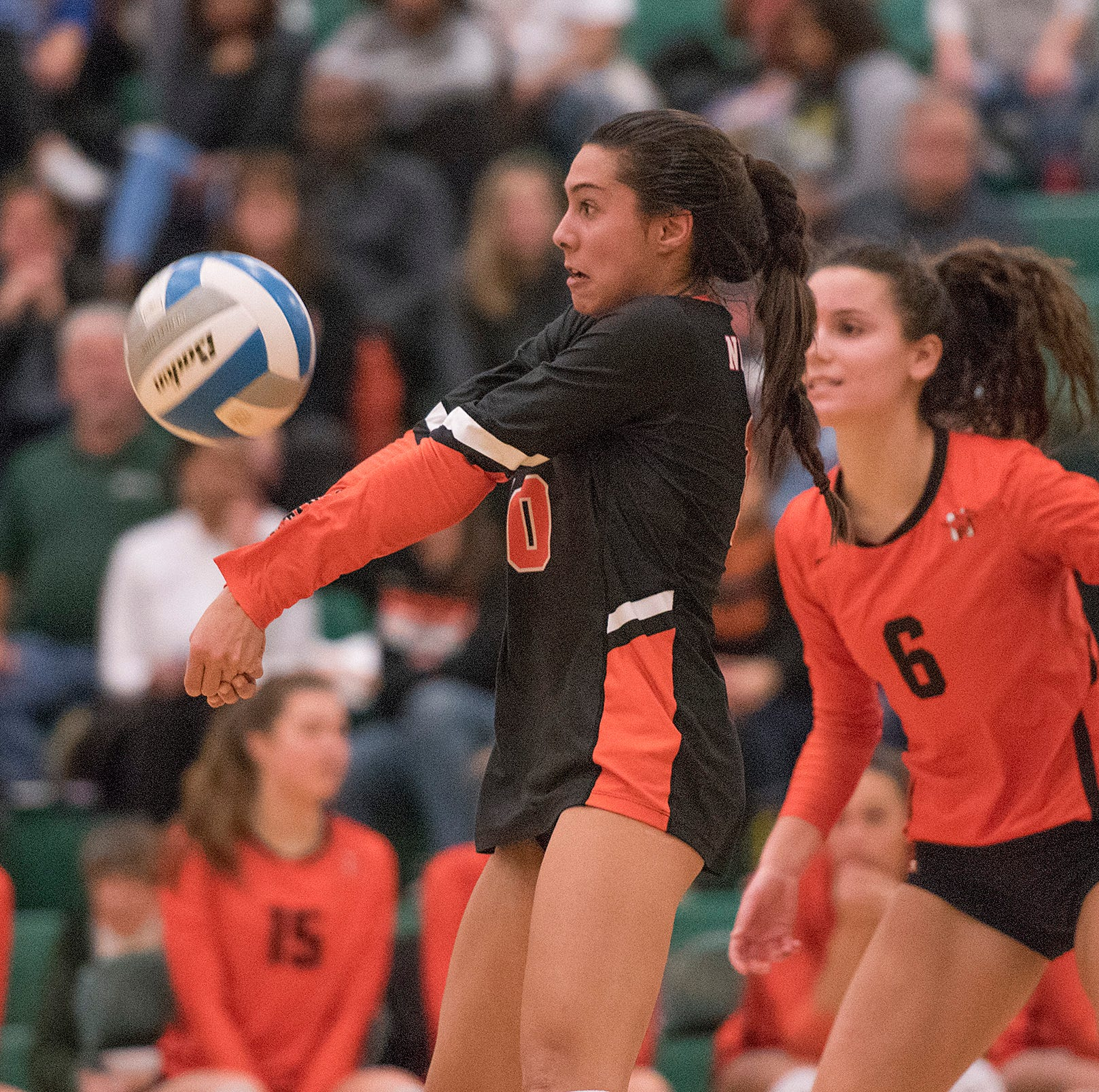 Understudy Setla fills libero void as Northville sweeps Churchill in D1 quarterfinal