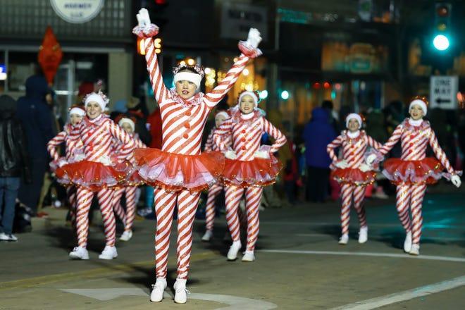 The Holiday Parade takes place Nov. 14 in Oshkosh.
