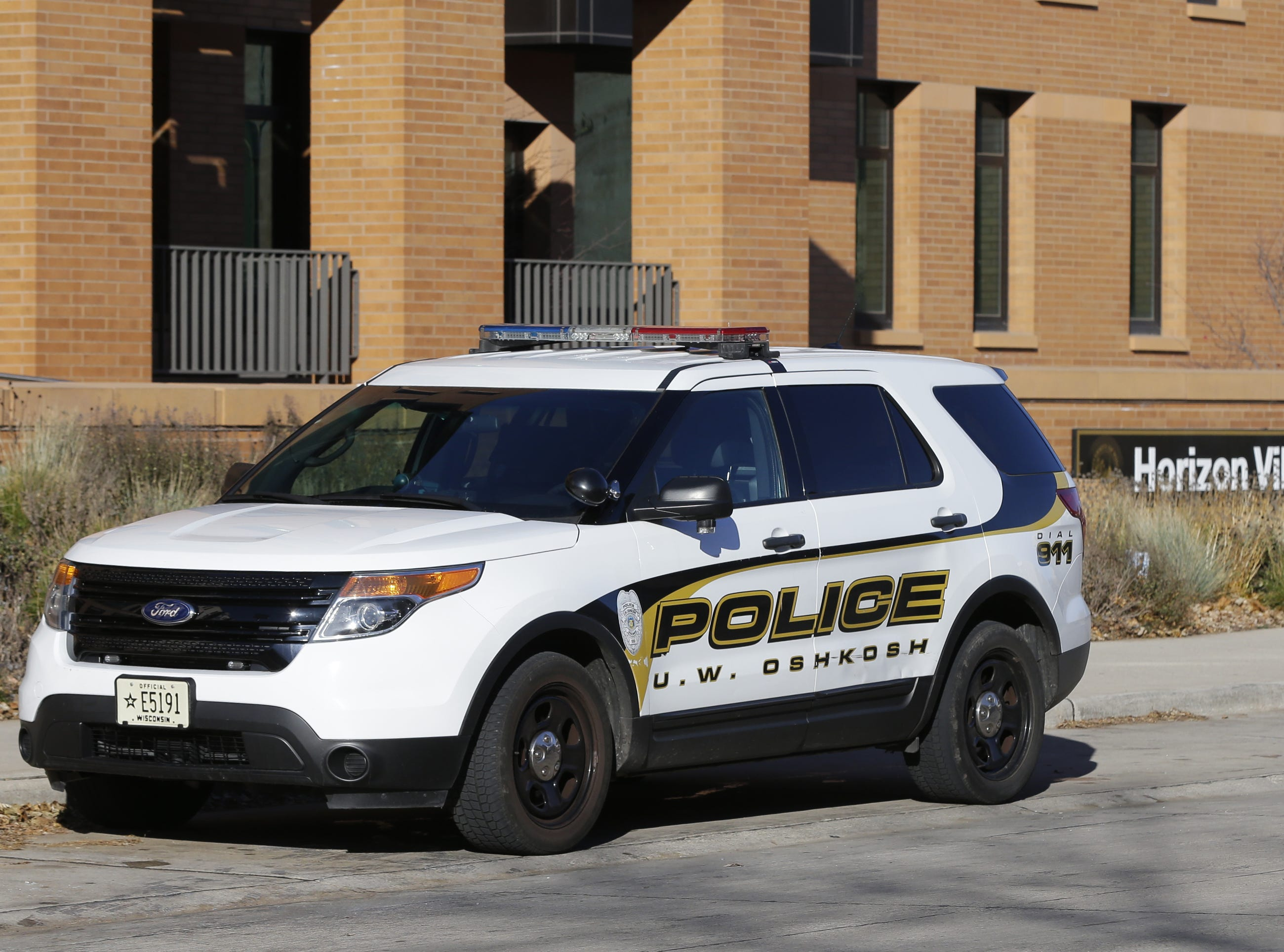 A robbery occurred on the UW-Oshkosh campus at Reeve Memorial Union at 8:40 a.m Wednesday, November 14, 2018.  There were two males suspects involved in the robbery. The suspects targeted an ATM security guard exchanging money. Suspects are not in custody. The suspects fled in vehicle traveling away from campus in an older style, rounded front, tan 4-door car Joe Sienkiewicz/USA Today NETWORK-Wisconsin