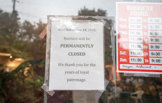 Horizen Sushi Closing