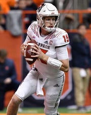 North Carolina State Wolfpack quarterback Ryan Finley (15) went to Phoenix Paradise Valley High. He could be a first round NFL draft pick in 2019.