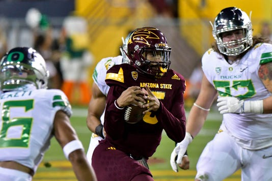 Ncaa Football Oregon At Arizona State