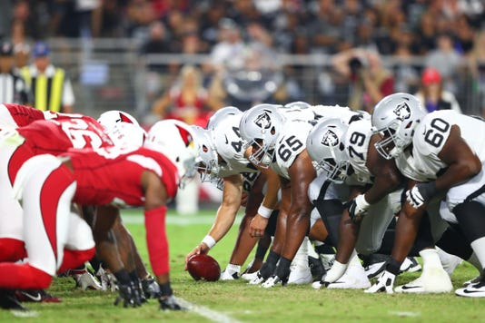 Nfl Oakland Raiders At Arizona Cardinals