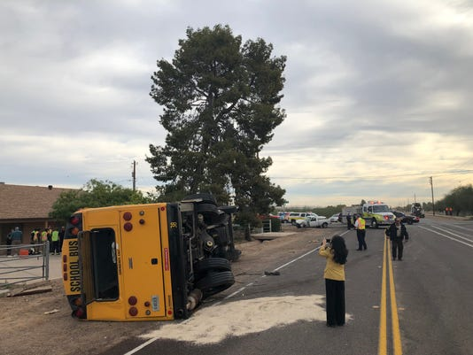 School bus crash near Tolleson