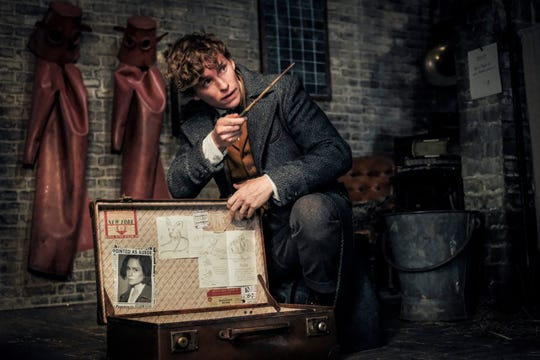 "Eddie Redmayne stars in ""Fantastic Beasts: The Crimes of Grindelwald."""