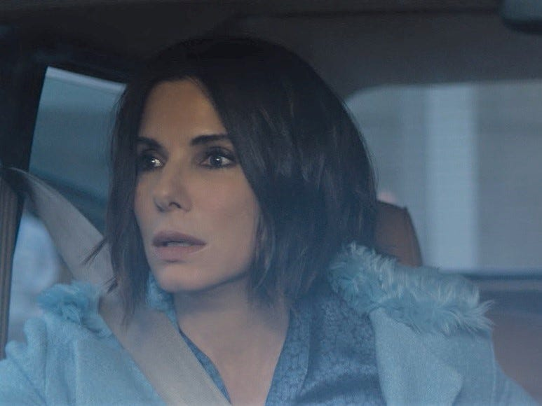 """Bird Box"" (TBD): ""Ocean's 8"" stars Sandra Bullock and Sarah Paulson play sisters in this ""Quiet Place""-esque thriller about a blindfolded family facing a mysterious unseen force that drives people to kill themselves upon opening their eyes to its horror. 