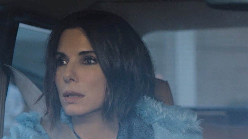 """""""Bird Box"""" (TBD): """"Ocean's 8"""" stars Sandra Bullock and Sarah Paulson play sisters in this """"Quiet Place""""-esque thriller about a blindfolded family facing a mysterious unseen force that drives people to kill themselves upon opening their eyes to its horror. 