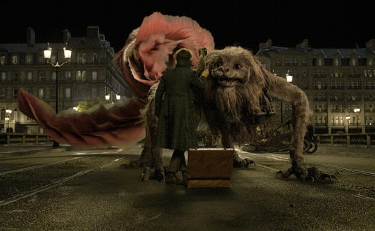 "The Zouwu is a giant critter from China in ""Fantastic Beasts: The Crimes of Grindelwald"