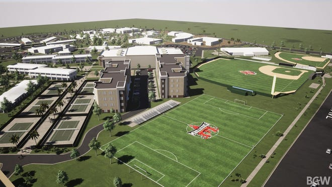 Renderings show Arizona Christian University's plans for the former Thunderbird campus in Glendale.
