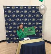 Kaia Langaker of Casteel has signed to play softball at North Dakota.