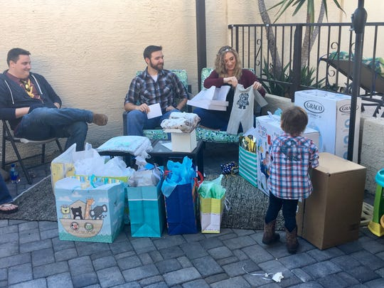 Tamatha and Virgil thanked everyone for coming to their baby shower, playing those ridiculous games and the gifts. Because they know the gifts are more than things. They are promises.