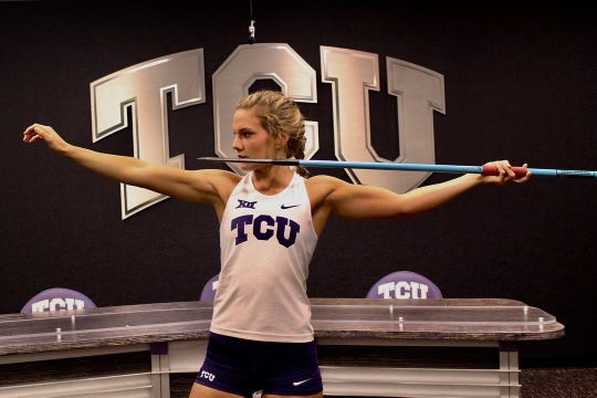 Keiley Sharp from Yuma Kofa will throw javelin at TCU.