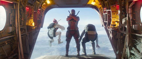 "Footage from ""Deadpool 2"" has been re-edited for a PG"