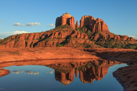 Sedona residents enjoy a 360-degree red rock view and an ideal climate for health and outdoor activities.