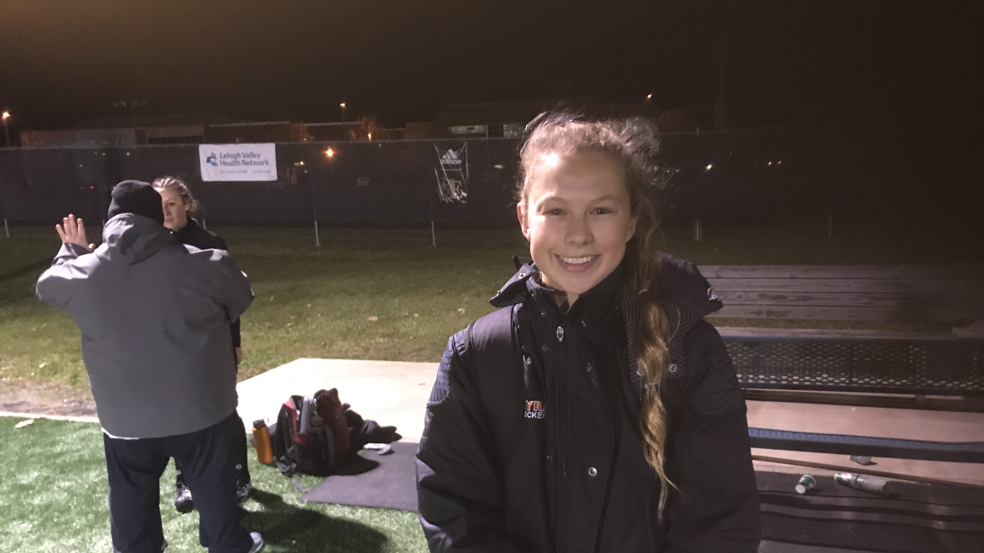 Nicole Shank was one of three Palmyra goal scorers in the Cougars' 3-1 state semifinal win over Wyoming Valley West on Tuesday night.