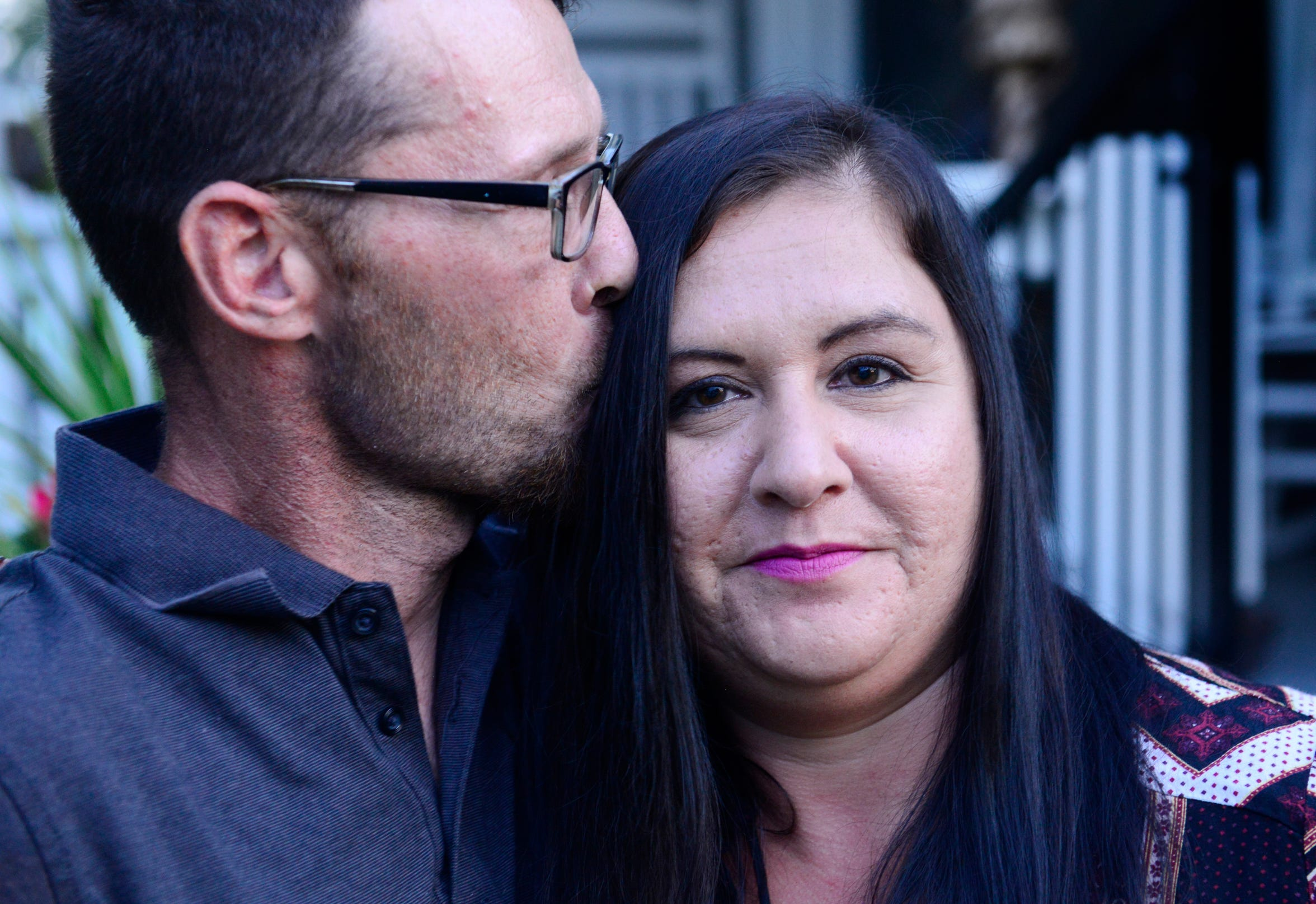 Together for 24 years, Jeff Schill, 40, and Angela Trimble, 39, of Port Clinton met in junior high and fell in love in high school. The couple have stopped using drugs, including cocaine and heroin, largely motivated by the threat of having their son taken away.