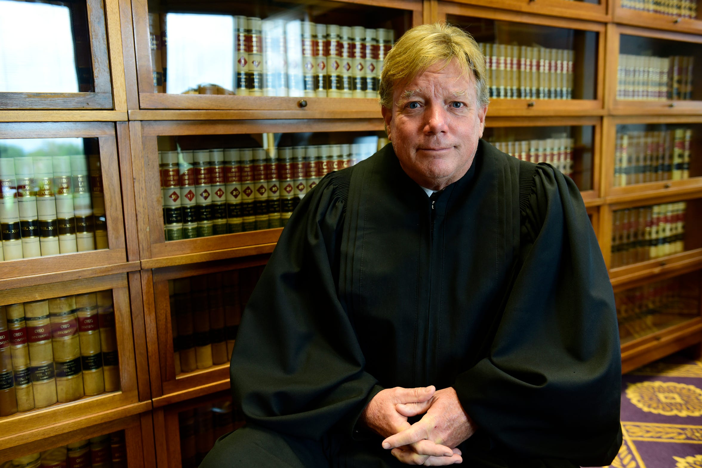 Judge Bruce Winters with the Ottawa County Common Pleas Court said about 80 percent of the cases on his docket are drug-related, including cases involving possession, theft and burglary. He started mandatory drug testing in his court in 2009, when he was first elected as judge. Winters said many of drug cases involve addicts who have diagnosable mental health issues such as depression, anxiety or PTSD. To address those issues, he hired a mental health counselor to make sure people in drug court get appropriate treatment.