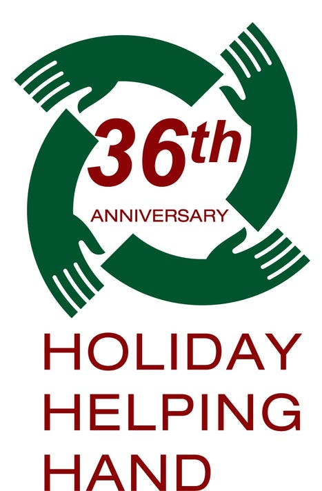 Holiday Helping Hand Logo