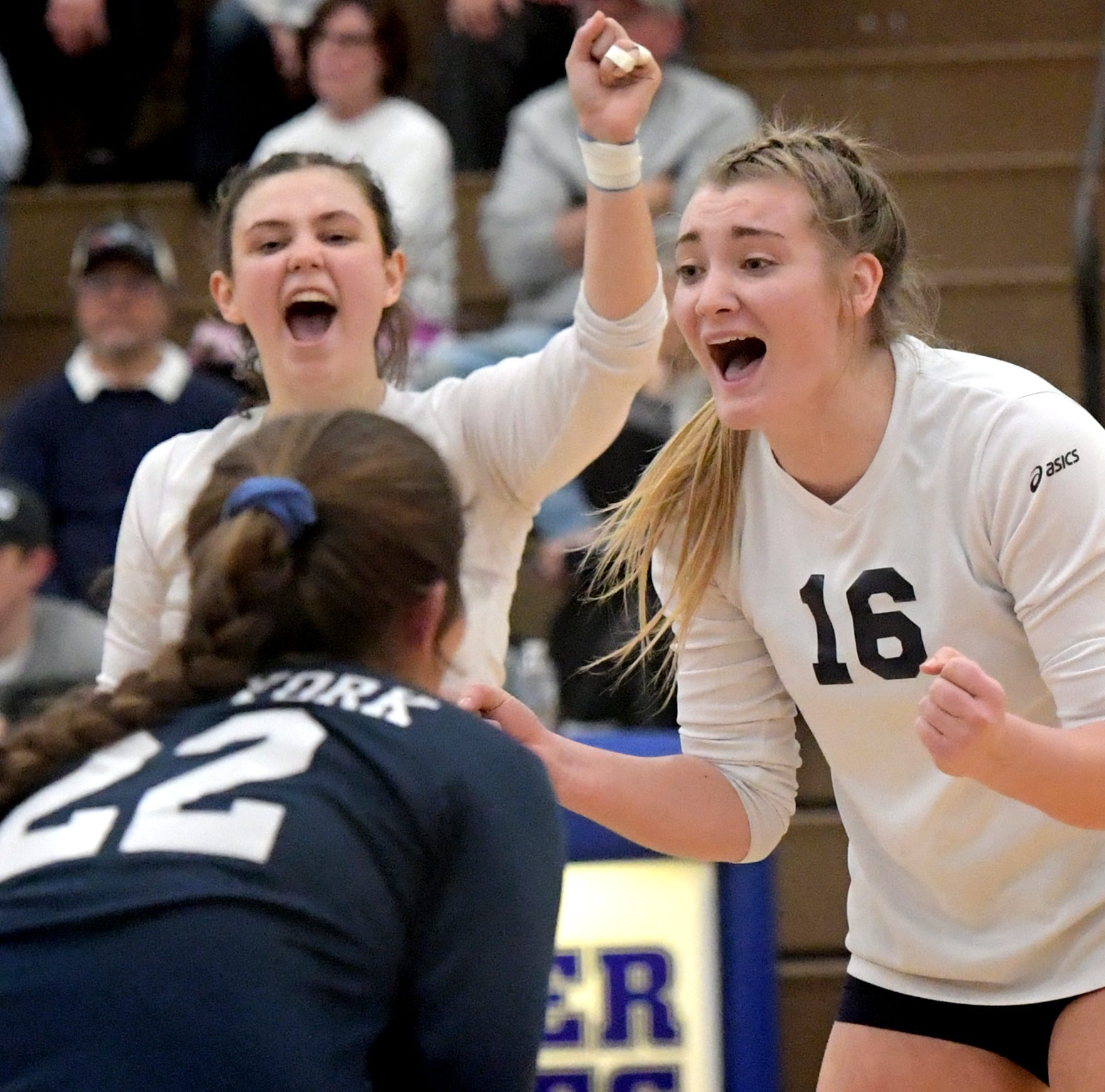 West York girls' volleyball team earns thrilling win, redemption and state title berth