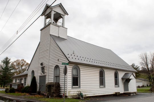 """St. Michael the Archangel Roman Catholic Church sits along Craley Road in Lower Windsor Township. The Rev. Virgil Tetherow, who's also known as Father Gabriel, serves as pastor. He's one of 301 """"predator priests"""" named in the recent grand jury report in Pennsylvania. The Diocese of Harrisburg does not recognize him or the church."""