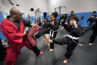 Gary Hopkins Sr. helped York kids become better people with martial arts for decades. Wallace Kelly, a student now teacher, wants to keep legacy alive
