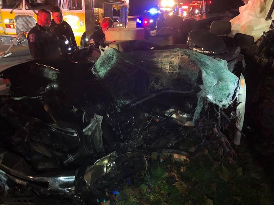 Speed involved in truck vs tree crash in southern York County, police say