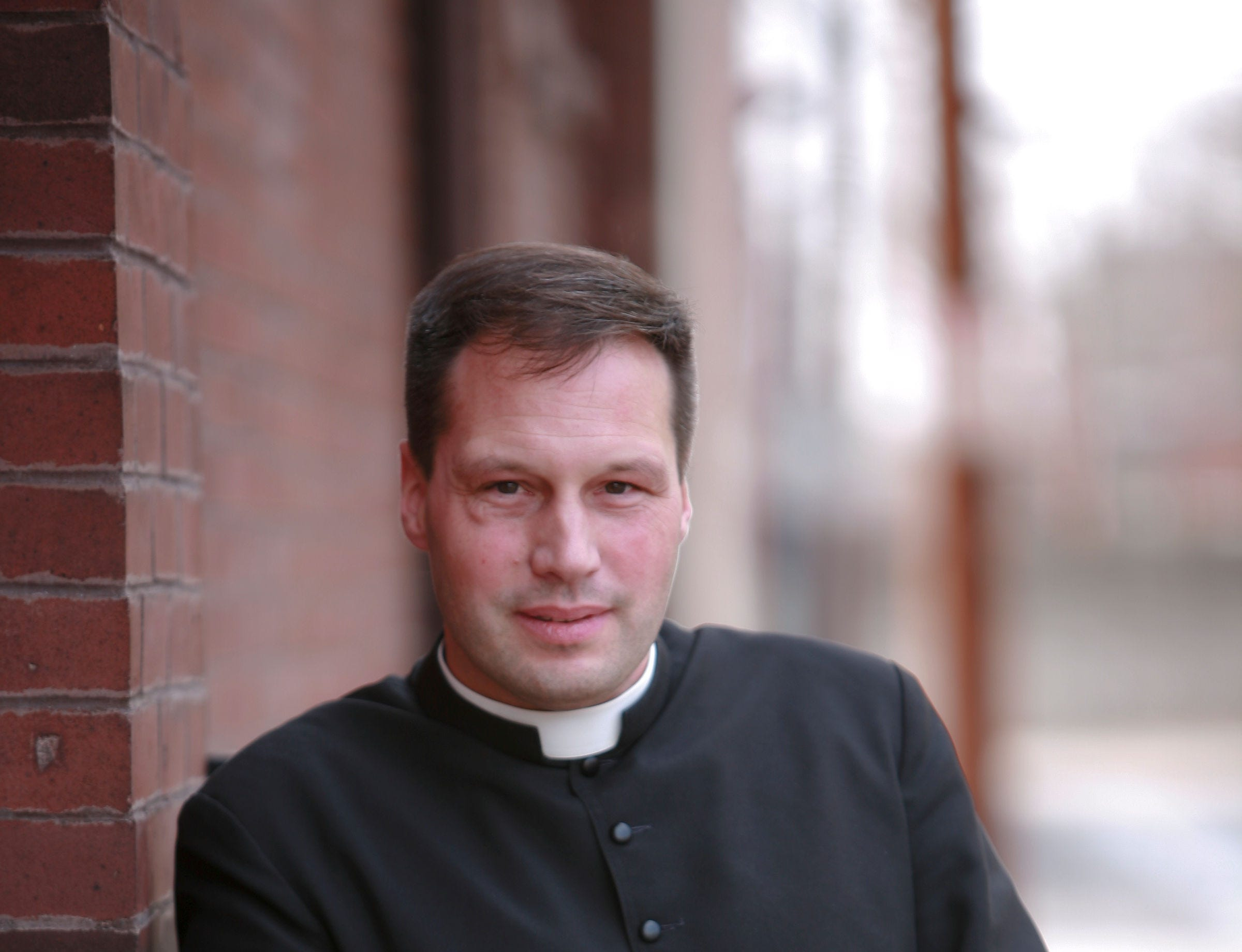 Virgil Bradley Tetherow, also known as Father Gabriel, in a photograph taken in 2009.