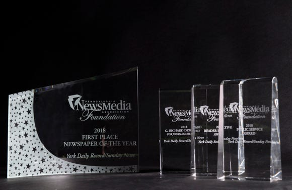 The York Daily Record was awarded 2018 Newspaper of the Year by the Pennsylvania NewsMedia Association Foundation, along with the the G. Richard Dew Award, PNA Foundation's most prestigious honor for outstanding journalism, the Readers Initiative Award and the Public Service Award. The YDR tied for the Newspaper of the Year award.